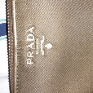 AUTHENTIC Prada nylon zip wallet